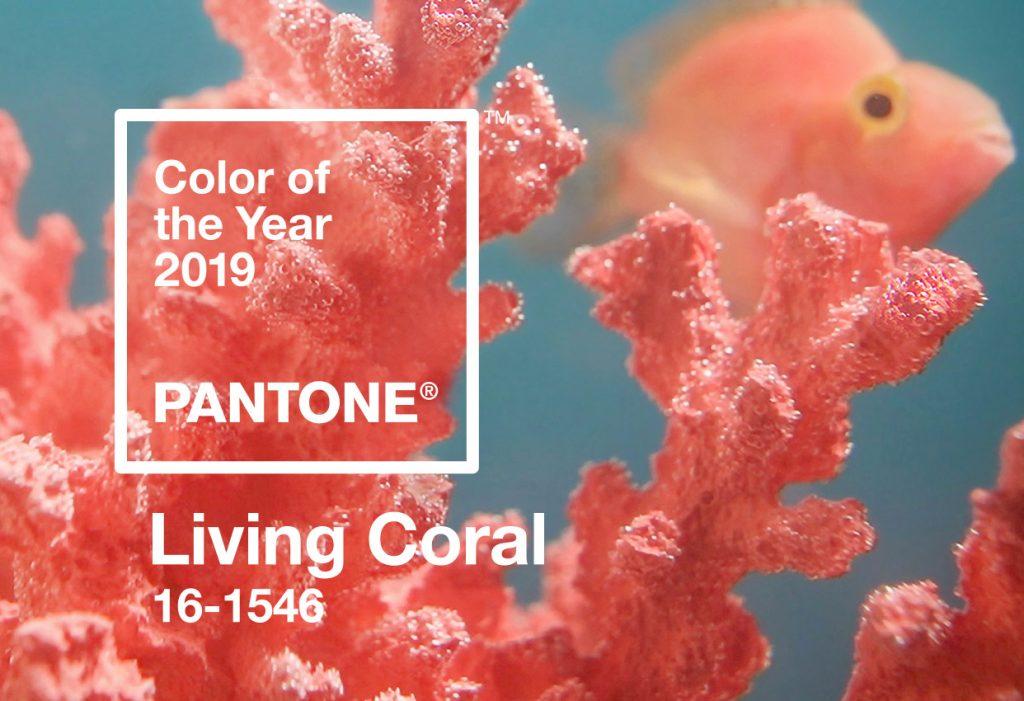 color coral en pedicura de verano